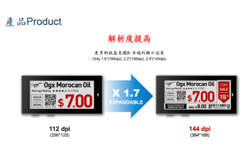 大世科-智慧零售- ESL電子紙應用規劃