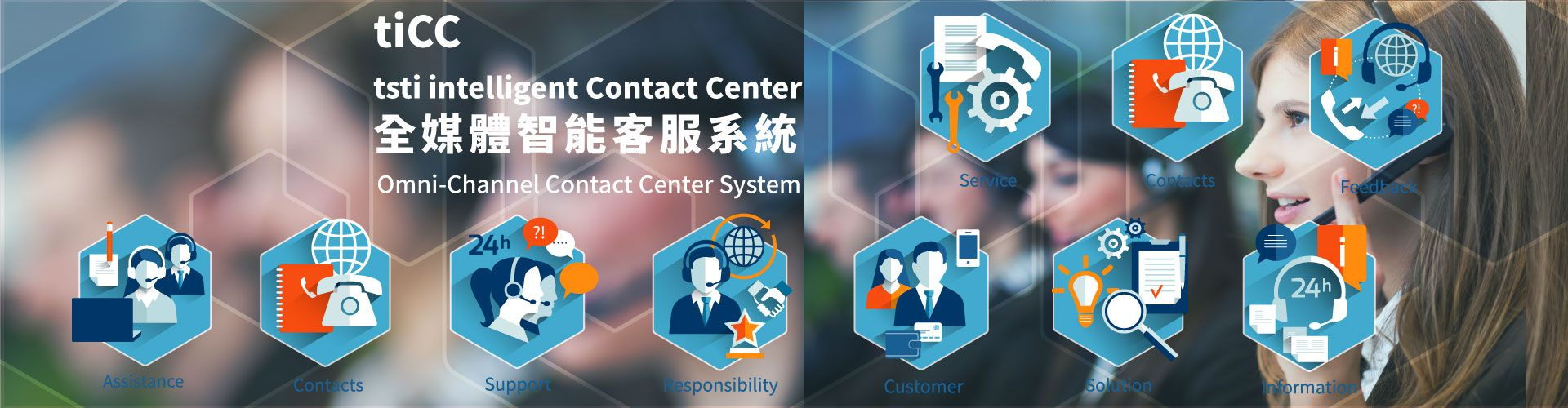 大世科-tiCC - tsti intelligent Contact Center 客服中心系統